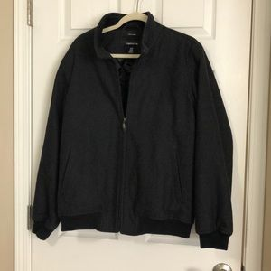 Men's Claiborne Wool Blend Bomber Jacket